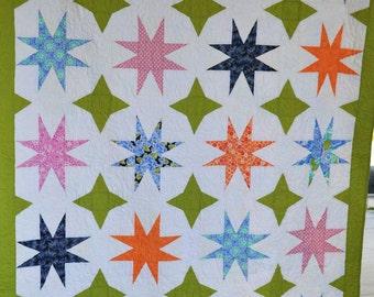 Honey V Quilt Pattern