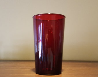 Royal Ruby Tumbler by Anchor Hocking Fire King