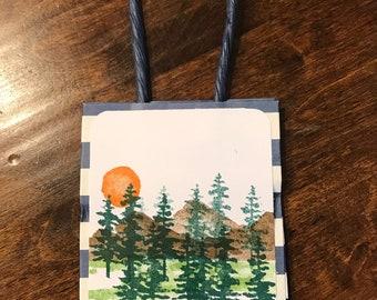 Gift bag gift wrap man's gift wrap
