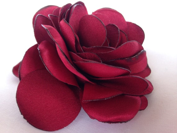 Red roses red silk flower 3 inches burned edgesred flower silk red roses red silk flower 3 inches burned edgesred flower silk rose flowers silk flowers red silk flowersembellishment from fabricden on etsy studio mightylinksfo Choice Image