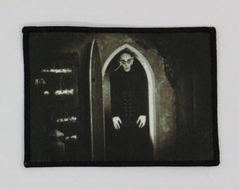 NOSFERATU PATCH - HORROR - Dracula Max Schreck vampire Count Orlok Murnau