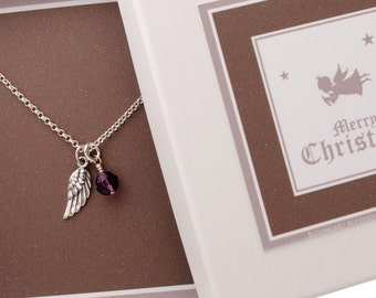 Necklace ANGEL RUFER 925 sterling silver Christmas