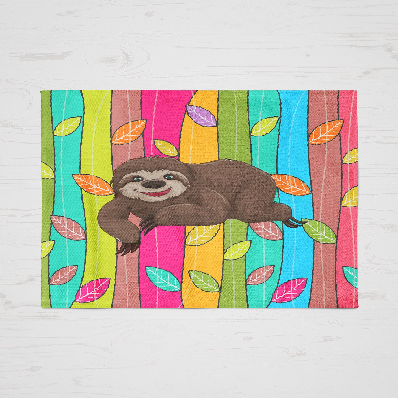 Sloth Rug Throw Rugs Area Rugs