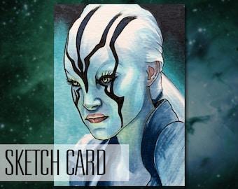 Jaylah 'Star Trek Beyond' sketch card