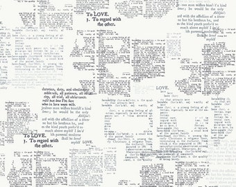 Capsules Letters - Love Meaning - AGF Studio - Art Gallery Fabrics (CAP-L-3008)