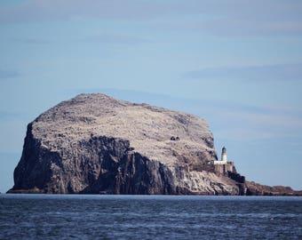 70x50cm Bass Rock, North Berwick