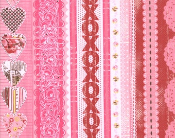 Kissing Booth 1 &1/ 2 Yard Remnant 30311-14