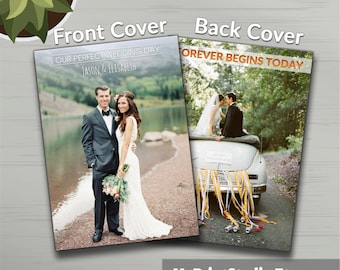 Wedding Photography Magazine Template (12 Pages), Wedding Photography Album for Photographers, DIY Photo Album in MS Word