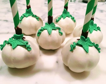 Pumpkin Cake Pops, Little Pumpkin, Baby Shower, Cake Pops (Regular or Gluten Free*)