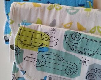 Burp Cloths - Baby Burp Cloths - Burp Cloths Boys - Burp Cloths Handmade - Chenille Burp Cloths - Personalized Burp Cloths - MONALUNA