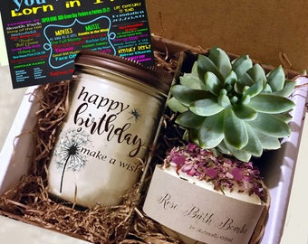 21st Birthday Gift, 21st Birthday, Send a gift, 21, Coworker Gift, Friend Gift | Get Well Gift | Best Friend Gift |Gift For Her