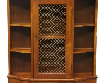 """High End Vintage Solid Cherry 30"""" Entry Console Cabinet"""