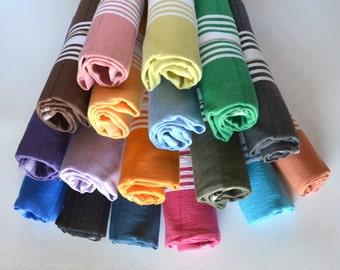 Tea Towel - Dish Towel - Kitchen Towel - Hand Towel - Baby Towel - Turkish Hand Towel - Dish Cloth - Head Towel - Guest Towel