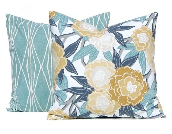 Decorative Pillow Covers Aqua Pillows Sofa Pillow Covers