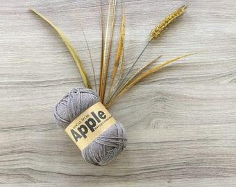 Apple yarn,crochet yarn,yarn for summer,organic cotton yarn
