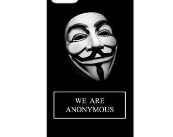 We are Anonymous phone case - Iphone 4 / 4s - 5 / 5 S - 5 c - 6 / 6 S - 6 more-7/8-7 more