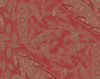 French General Favourites Red - 1/2yd