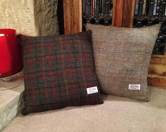 Authentic Harris Tweed Cushion Cover - Multiple Tweeds & Sizes