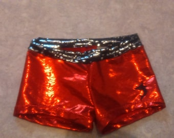 Mini personalized shorts for the practice of fitness, gym, circus...