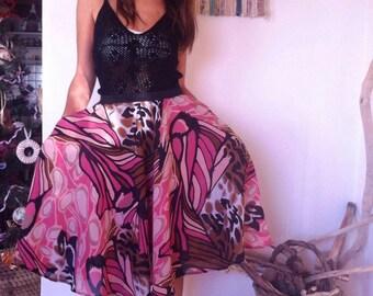 Skirt/skirt/fancy dress/skirt with pockets