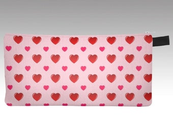 Valentine's Pouch, Makeup Bag, Coin Purse, Pencil Case, Purse Organizer, Craft Organizer, Phone Holder, Clutch Purse, Hold All, Clutch Bag