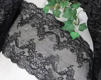 Lace,black Lace,beautiful Lace,elastic Lace, Calais