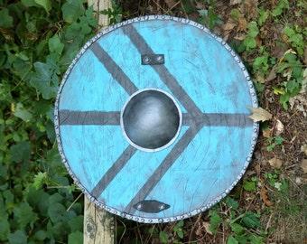 Viking Lagertha style round large shield