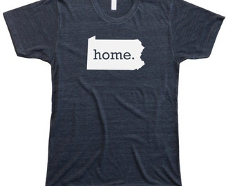 Homeland Tees Men's Pennsylvania Home T-shirt