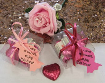 Sweet Wedding favour boxes