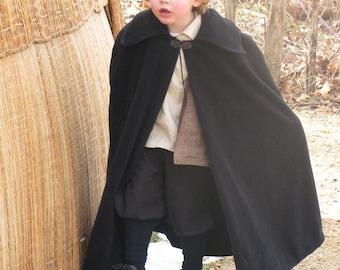 Boy's Fleece Cloak - Sizes 10, 12, 14