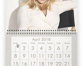HILARY DUFF 2018 Calendar