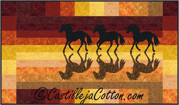 horse only free s quilter horses cotton download quilt pdf holding pattern