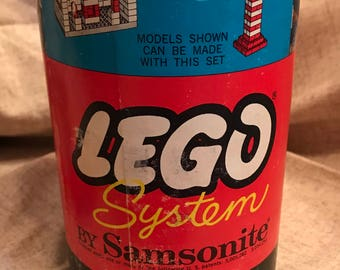 Vintage 1960's Lego System in Original Box (Set #706)