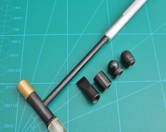 Hammer With 6 Interchangeable Head Styles for Watchmakers Jewelers and Hobbiest