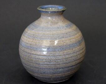 Ceramic vase, bud vase, small vase, pottery vase, blue vase, handmade, ceramic vases