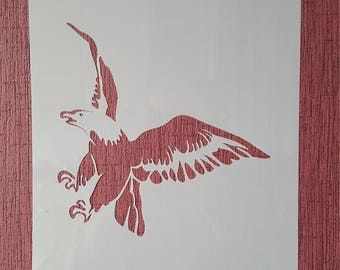 Stencil Eagle Plastic Malschablone Efco hobby decoration stencils Painting Photo Mandala stencil Prosperity Restaurieung