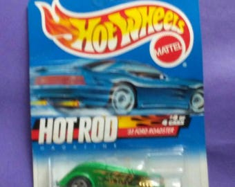 Hot Wheels 1932 Ford Roadster new on card