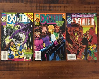 1995-96 Excalibur #90, #91 and #93 Comic Books / NM-VF/ Marvel Comics/ Choose One or All Three for a Discounted Price!!!