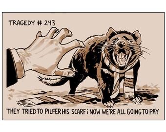 Tragedy 243: Pilfered Scarf Print