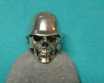 Vintage Signed G&S 1985 Gordon Smith Skull Biker Goth Ring