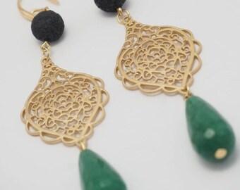 Jade Long Earrings/Jade Long Earring