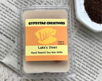 LUKE'S DINER Wax Melts  - Gilmore Girls Gift, Gilmore Girls Inspired