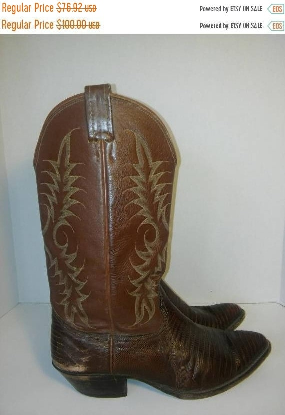 Men's Closing 10 Off cowboy Nocona Women's 8 Nocona 50 Leather girl 5 Vintage Boots Boots SALE Pwq5ZZaR