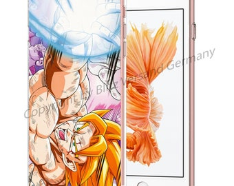 DRAGONBALL Z Smartphone transparent TPU Case with motif fit for Smartphone models Huawei iphone SAMSUNG Cartoon Comic M3