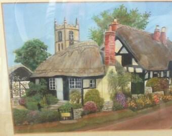 watercolour original  by winston pottle