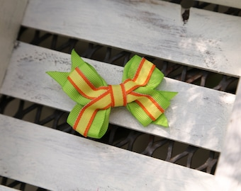 It's Electric Bow (Lime Green, Yellow & Orange)