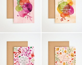 Self-Care Greeting Card Boxed Set - Meera Lee Patel x Alex Elle