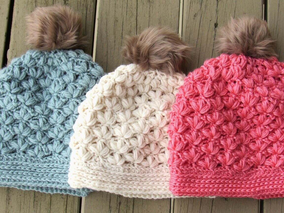 Crochet Beanie Pattern, Crochet Hat Pattern, Crochet Slouchy Hat ...