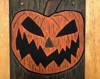 Nightmare Before Christmas Halloween Town Door Décor