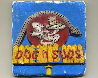 Dog n Suds in Grayslake Illinois - Original Coaster